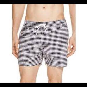 LaCoste Gingham Swim trunks